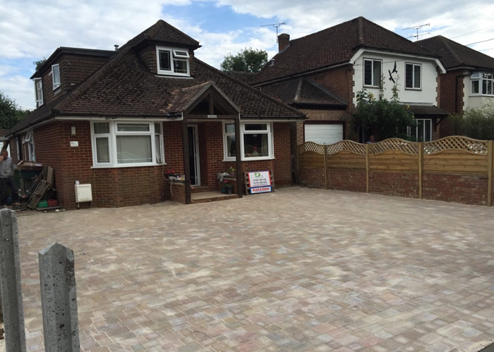 Bungalow driveway laid in Widmer End, Buckinghamshire