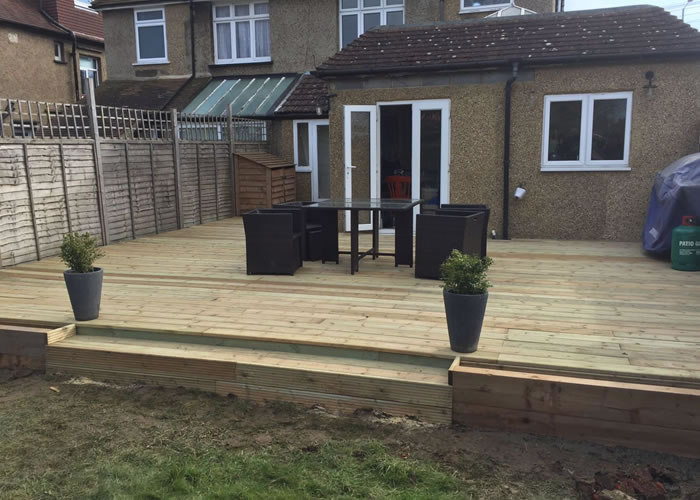 Quality outdoor decking